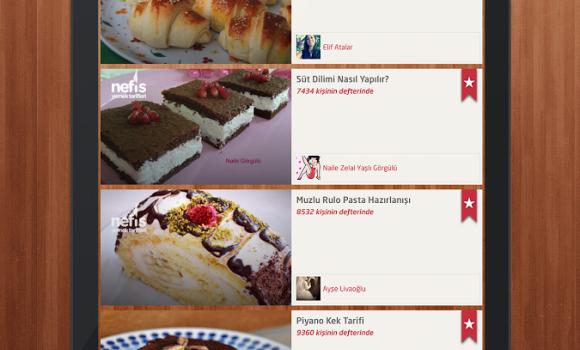 Nefis Yemek Tarifleri Ekran Görüntüleri - 4
