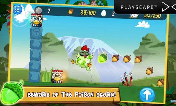 Ninja Chicken Adventure Island Ekran Görüntüleri - 5