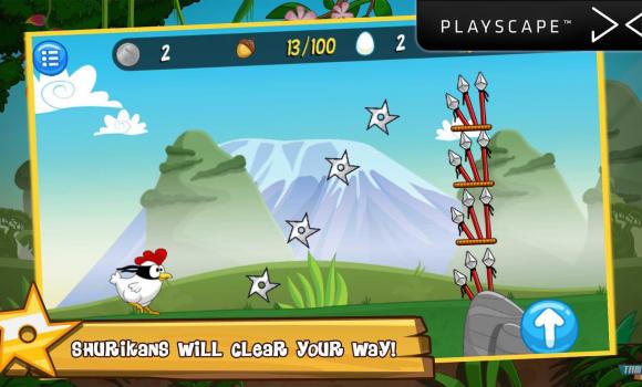 Ninja Chicken Adventure Island Ekran Görüntüleri - 2