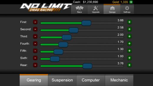 No Limit Drag Racing Ekran Görüntüleri - 1