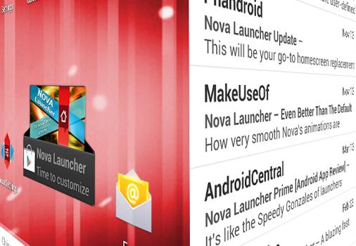 Nova Launcher Ekran Görüntüleri - 2