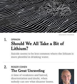 NYTimes Ekran Görüntüleri - 1