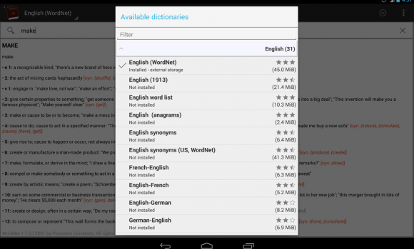 Offline dictionaries Ekran Görüntüleri - 4
