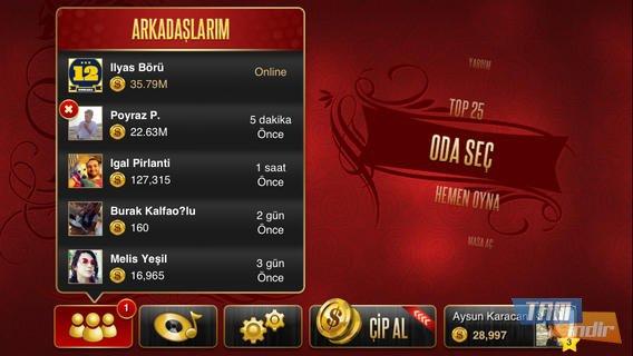 Okey Plus Ekran Görüntüleri - 2