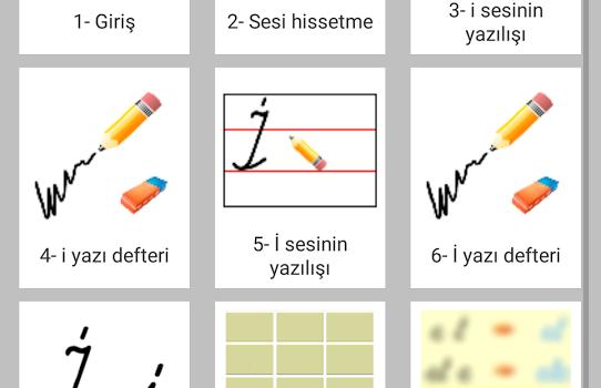 Okuma Yazma Öğreniyorum Ekran Görüntüleri - 4