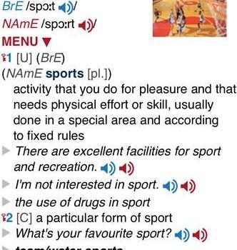 Oxford Advanced Learner's Dictionary Ekran Görüntüleri - 5