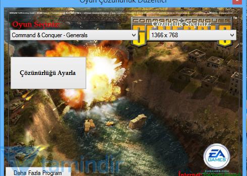 Oyun Çözünürlük Düzeltici Ekran Görüntüleri - 1