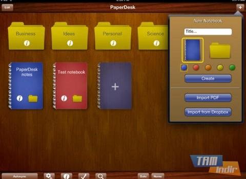 PaperDesk Ekran Görüntüleri - 2