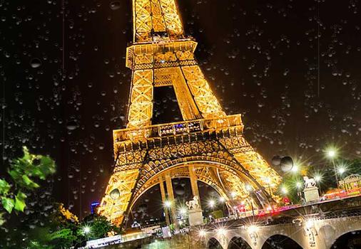 Paris Yağmur Duvar Kağıdı Ekran Görüntüleri - 1