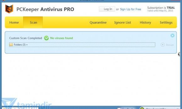 PCKeeper Antivirüs Ekran Görüntüleri - 1