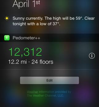 Pedometer++ Ekran Görüntüleri - 1