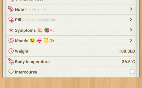 Period Calendar Ekran Görüntüleri - 2