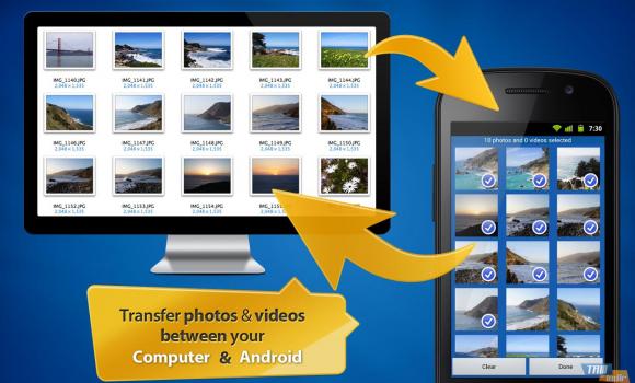 Photo Transfer App Ekran Görüntüleri - 4