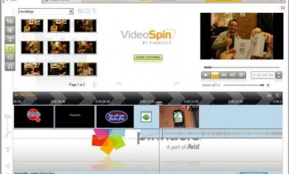 Pinnacle VideoSpin Ekran Görüntüleri - 2