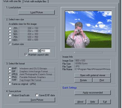 PIXresizer Ekran Görüntüleri - 2