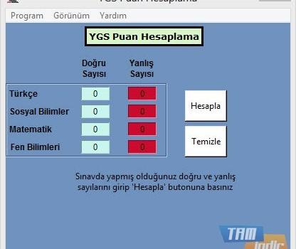 POI YGS Puan Hesaplama Ekran Görüntüleri - 3