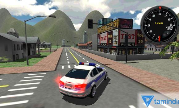 Police Car Driver 3D Ekran Görüntüleri - 1