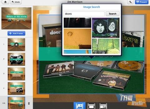Prezi Ekran Görüntüleri - 3