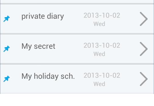 Private Diary Notes Ekran Görüntüleri - 3