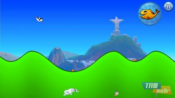 Racing Penguin, Flying Free Ekran Görüntüleri - 3
