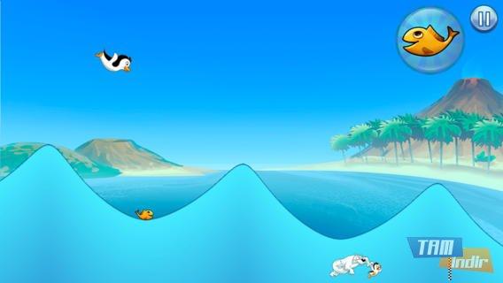 Racing Penguin, Flying Free Ekran Görüntüleri - 1