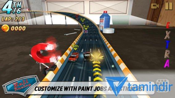 Rail Racing Free Ekran Görüntüleri - 2