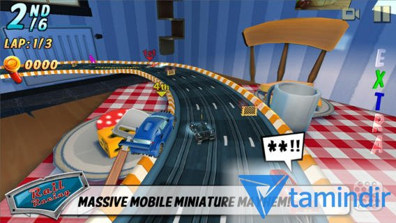 Rail Racing Free Ekran Görüntüleri - 1