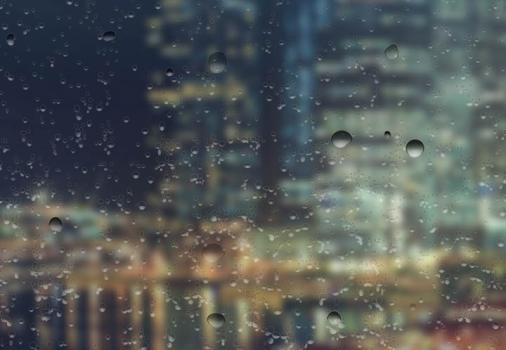 Rain On Glass Live Wallpaper Ekran Görüntüleri - 3