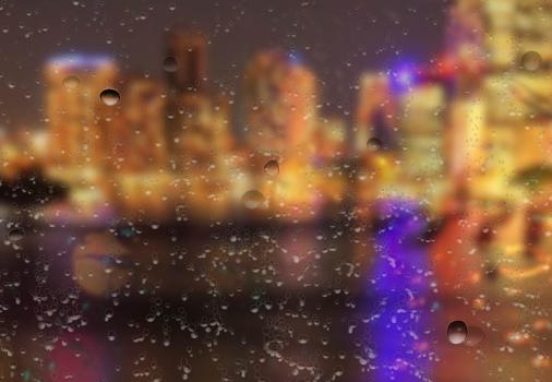 Rain On Glass Live Wallpaper Ekran Görüntüleri - 1