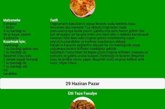 Ramazan İftar Yemekleri Ekran Görüntüleri - 4