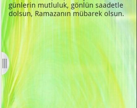 Ramazan Mesajları Ekran Görüntüleri - 1
