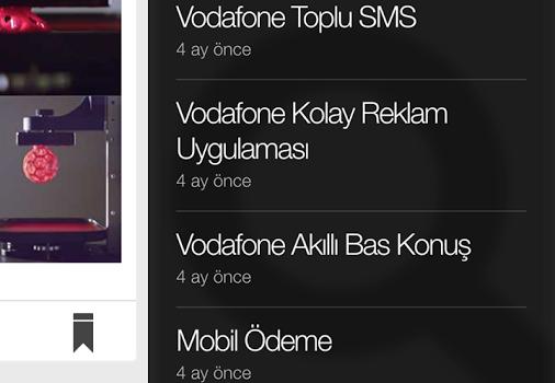 Vodafone Ready News Ekran Görüntüleri - 2