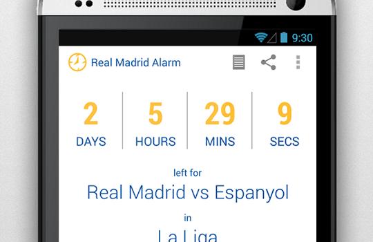 Real Madrid Alarm Ekran Görüntüleri - 5