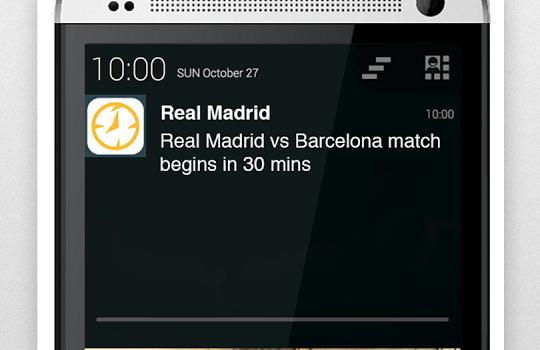 Real Madrid Alarm Ekran Görüntüleri - 4