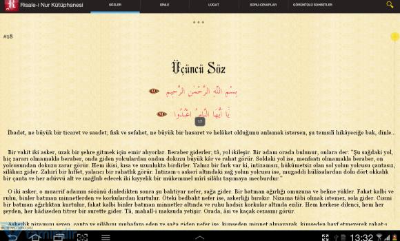 Risale-i Nur Kütüphanesi Ekran Görüntüleri - 3