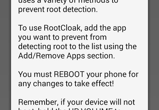 RootCloak Plus Ekran Görüntüleri - 1