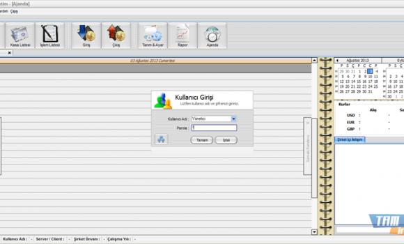 Sav Kasa Takip Programı Ekran Görüntüleri - 1