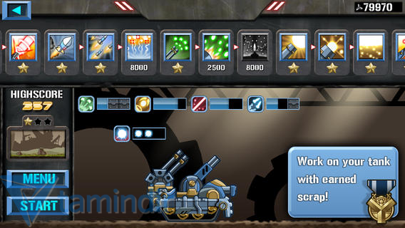 Scrap Tank Ekran Görüntüleri - 1