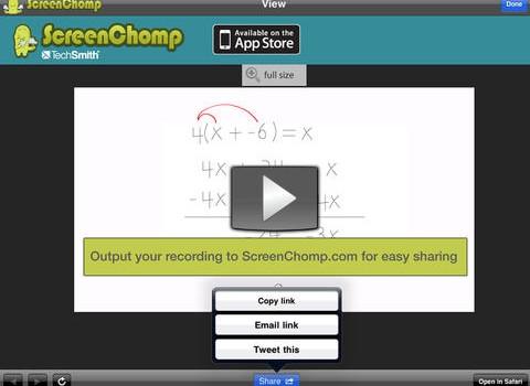 ScreenChomp Ekran Görüntüleri - 3