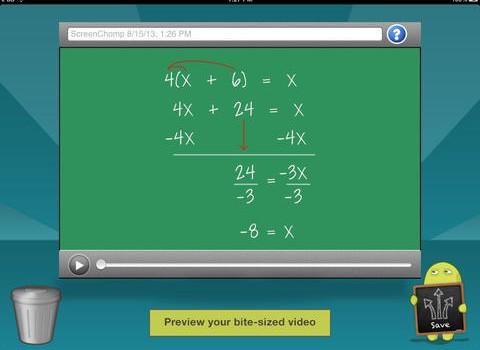 ScreenChomp Ekran Görüntüleri - 1