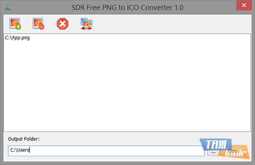 SDR Free PNG to ICO Converter Ekran Görüntüleri - 1