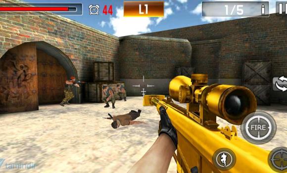 Shoot War: Professional Striker Ekran Görüntüleri - 2