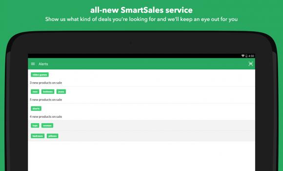 ShopSavvy Barcode Scanner Ekran Görüntüleri - 1