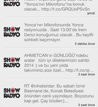Show Radyo Ekran Görüntüleri - 1