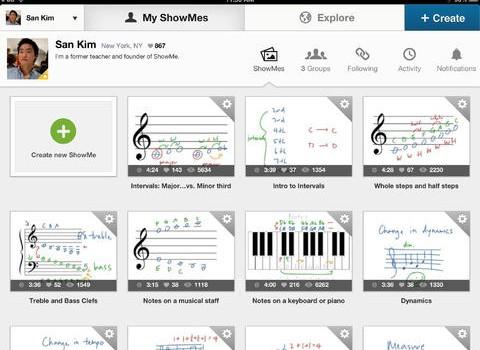 ShowMe Interactive Whiteboard Ekran Görüntüleri - 3