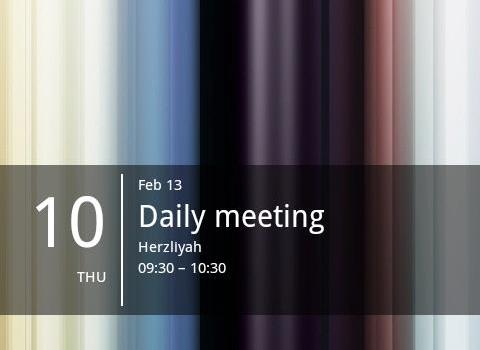 Simple Calendar Widget Ekran Görüntüleri - 3