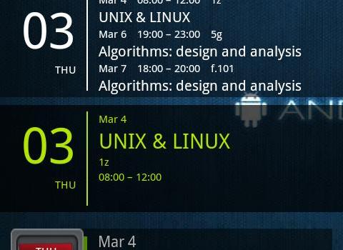 Simple Calendar Widget Ekran Görüntüleri - 2