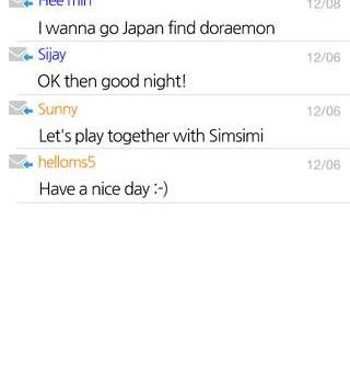 SimSimi Ekran Görüntüleri - 2