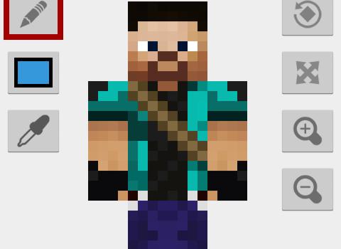 Skin Editor for Minecraft Ekran Görüntüleri - 4