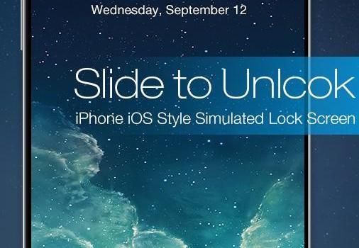 Slide to Unlock Lock Screen Ekran Görüntüleri - 5